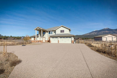 Flagstaff Single Family Home For Sale: 8344 W Mountain Shadows Drive