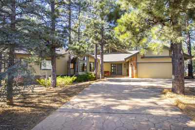 Flagstaff Single Family Home For Sale: 3281 Dick Hevly