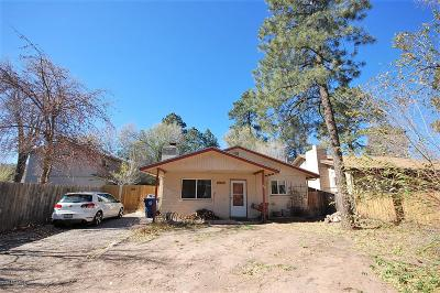 Flagstaff Single Family Home For Sale: 2505 N Center Street