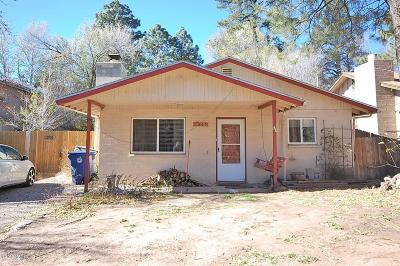 Flagstaff Multi Family Home For Sale: 2505 N Center Street