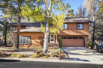 Flagstaff Single Family Home For Sale: 2389 N Elk Run