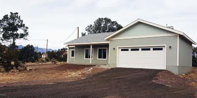 Flagstaff Single Family Home For Sale: 9111 E Moon Beam Avenue