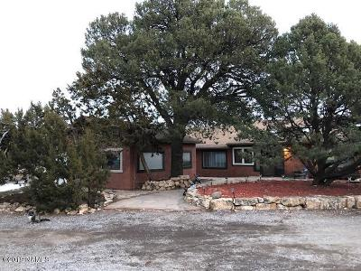 Flagstaff Single Family Home For Sale: 9730 N Rosewood Drive