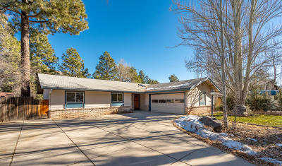 Flagstaff Single Family Home For Sale: 1018 E Hillcrest Drive