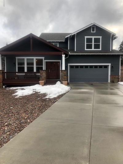 Flagstaff Single Family Home For Sale: 2833 N Gregg Drive