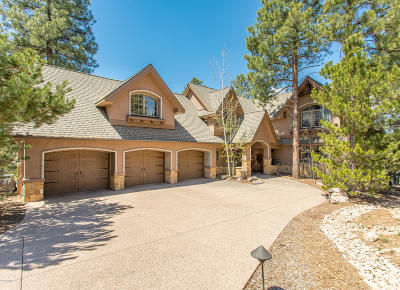 Flagstaff Single Family Home For Sale: 1671 Singletree Court