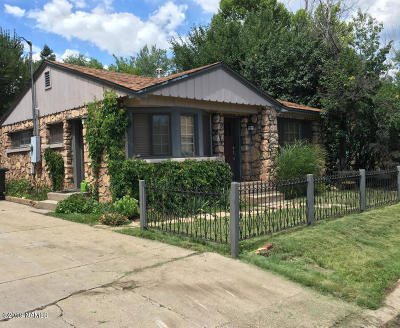 Flagstaff Single Family Home For Sale: 15 S Walnut Street
