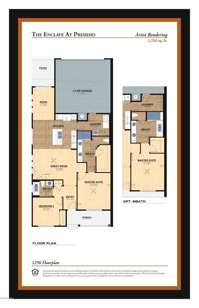 Flagstaff Condo/Townhouse For Sale: 1256 Plan Miramonte The Enclave
