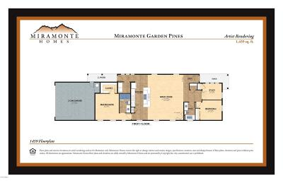 Flagstaff Single Family Home For Sale: 1459 Plan Miramonte Garden Pines
