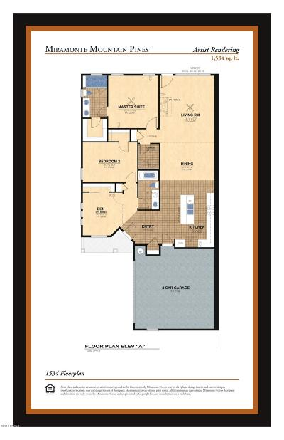 Flagstaff Condo/Townhouse For Sale: 1534 Plan Miramonte Mountain Pines