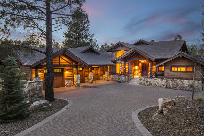Flagstaff AZ Single Family Home For Sale: $2,595,000