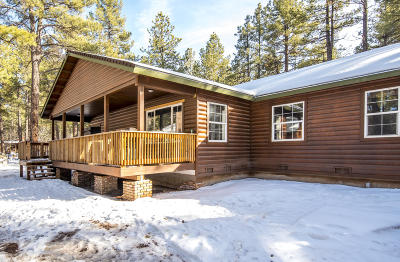 Flagstaff, Bellemont, Munds Park, Parks, Williams Single Family Home For Sale: 3488 Pine Top Drive
