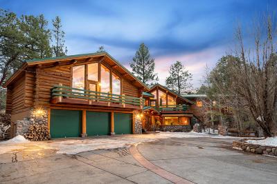 Flagstaff AZ Single Family Home For Sale: $2,100,000