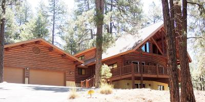 Flagstaff Single Family Home For Sale: 1373 Buckhorn Loop