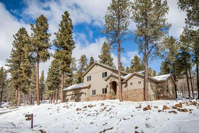 Coconino County Single Family Home For Sale: 3330 Granite Ridge #Lot 4