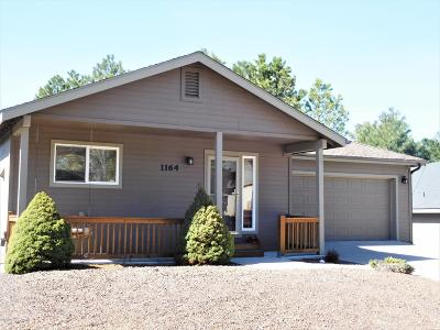 Flagstaff Single Family Home For Sale: 1164 W Lil Ben Trail