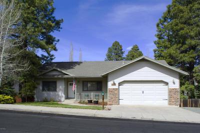 Coconino County Single Family Home For Sale: 6304 E Abineau Canyon Drive