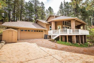 Flagstaff Single Family Home For Sale: 3441 Griffiths