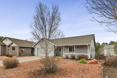 Flagstaff Single Family Home Pending - Take Backup: 811 W Lone Star Trail