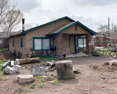 Flagstaff Single Family Home For Sale: 608 S Ernest Street