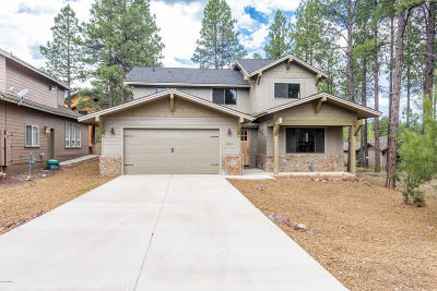 Flagstaff Single Family Home For Sale: 3520 W Lead Rope