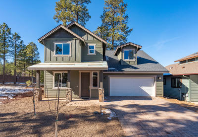 Flagstaff Single Family Home For Sale: 2397 W Mission Timber Circle