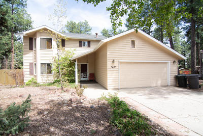Flagstaff Single Family Home For Sale: 3465 Carol Drive