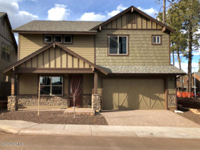Flagstaff Single Family Home For Sale: 2583 W Pollo Circle #317