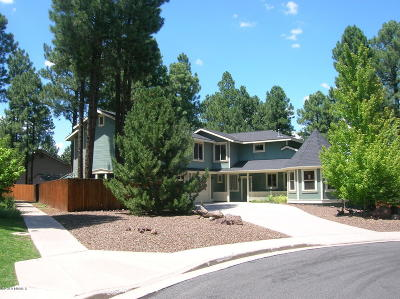 Flagstaff Single Family Home For Sale: 1996 Fresh Aire Street