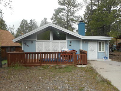 Munds Park Single Family Home For Sale: 17110 Sequoia Drive