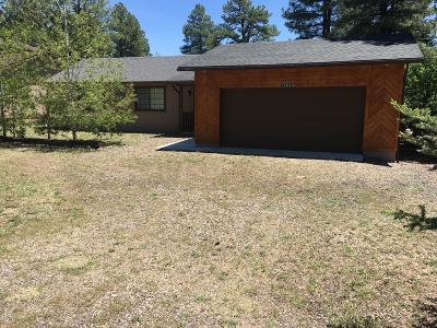 Munds Park Single Family Home For Sale: 17325 Sequoia Drive