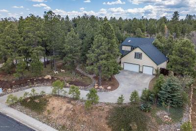 Coconino County Single Family Home For Sale: 5807 E Abbey Road