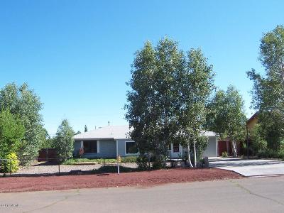 Williams Single Family Home For Sale: 1110 Stockmens Road