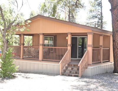 Coconino County Mobile/Manufactured For Sale: 17250 Big Sky