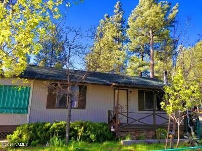 Munds Park Single Family Home For Sale: 440 E Cedar Wood Drive