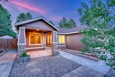 Flagstaff Single Family Home For Sale: 1037 W Lil Ben Trail