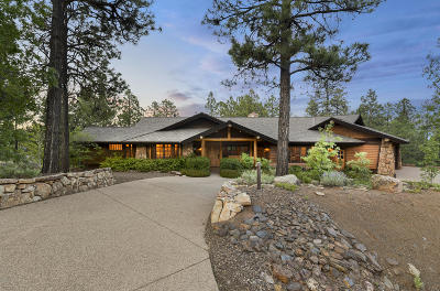 Coconino County Single Family Home For Sale: 4560 S Saddle Horn