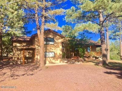 Flagstaff Single Family Home For Sale: 5280 Forest Drive