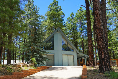 Coconino County Single Family Home For Sale: 3155 Kweo Trail