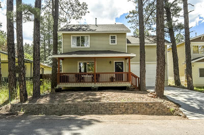 Flagstaff Single Family Home For Sale: 3571 N Shoshone