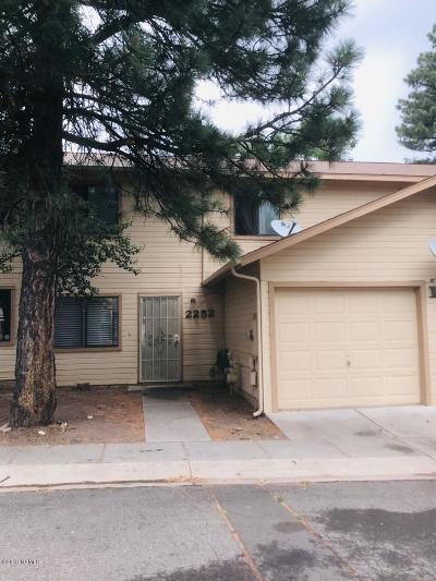 Flagstaff Condo/Townhouse For Sale: 2252 E Arroyo Seco Drive