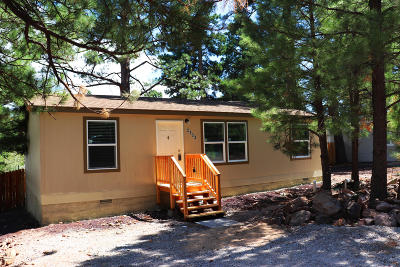 Coconino County Mobile/Manufactured For Sale: 2333 Gambel Oak Trail