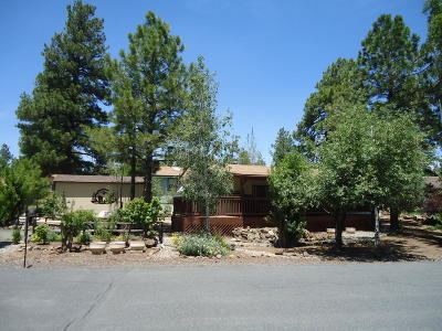 Coconino County Mobile/Manufactured For Sale: 780 E Cedar Wood Drive