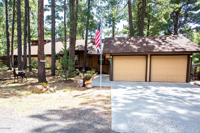 Coconino County Single Family Home Pending - Take Backup: 635 E Meadow View Road