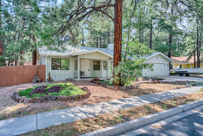 Coconino County Single Family Home For Sale: 1595 W University Heights Drive S