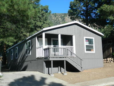 Flagstaff Mobile/Manufactured For Sale: 4355 E Wintergreen Road