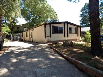 Flagstaff Mobile/Manufactured For Sale: 4412 E Wintergreen Road
