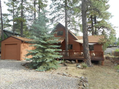 Coconino County Single Family Home For Sale: 785 E Trout Creek Road