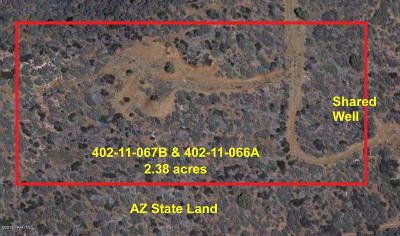 Dewey-humboldt Residential Lots & Land For Sale: 3430 S Mariposa Hill Road