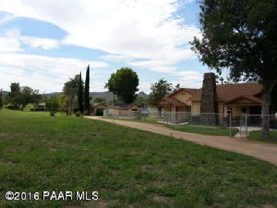 Skull Valley Single Family Home For Sale: 5200 S Old Skull Valley
